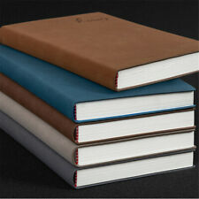 A5 PU Leather Vintage Journal Notebook Lined Paper Diary Planner Office School
