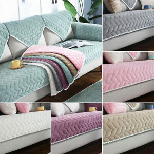 4Type Soft Sofa Couch Cover Non-slip Slipcover Sofa Towel Protective Mat