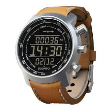 Suunto Elementum Terra n/Brown Leather Premium ABC Watch SS018733000--New in Box