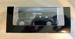 Minichamps Rolls-Royce Phantom Drophead Coupe Black Metallic 1/43 134730