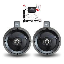 Pyle 2 Channel Waterproof 4''UTV/ATV/Snowmobile/Marine Amplified Speaker System