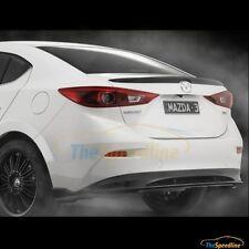 14 15 16 Mazda3 4D Sedan Lip Duck Tail Rear Trunk Spoiler Mazda 3 BM 2014 2015