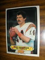 1983 Topps Sticker Insert  #2 Ken Anderson Cincinnati Bengals  NrMt