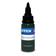 Dragon Green Dark — Intenze Tattoo Ink — 1oz Bottle