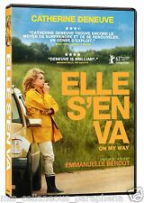 On My Way / Elle S'en Va (DVD, 2014, Region 1)Audio:French/Francais[subs:Eng]