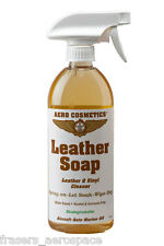 "Professional Leather Cleaner (500ml Spray Bottle) - ""Leather Soap"""