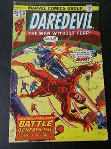 Daredevil #132 VG+ Bullseye 1976