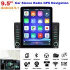 "2 DIN 9.5"" Android 9.1 HD 1+16GB Bluetooth Car Dash Stereo Radio GPS Navigation"