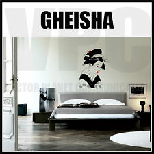 WALL STICKERS  ADESIVO GEISHA JAPAN JAPANESE GIAPPONESE
