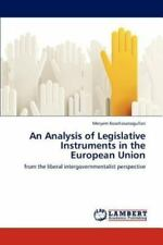 An Analysis of Legislative Instruments in the European Union by Meryem...