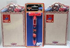 3-SET CARS PEN & 2 MAGNETIC NOTEPADS Disney Pixar Lightning McQueen School NEW