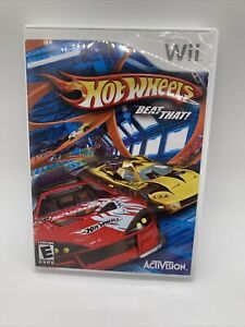 Hot Wheels: Beat That - Nintendo  Wii Game complete with manual