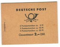 s25583) GERMANY DDR MNH** Booklet definitives (5 scans)