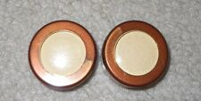 Lot of 2 FASHION FAIR eye shadow singles *52A7-OX Golden Pearl*