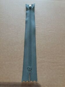 YKK Zip ERFC256 18cm Qty 26of Nylon Dress Trousers & skirt Grey Zips Bulk