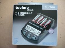 techno-line intelligent battery charger for AA & AAA rechargable battries.