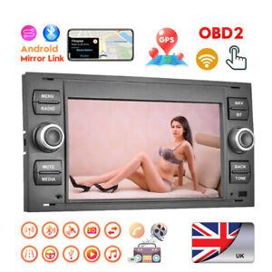 For Ford Transit Mk7 Kuga C/S-Max Galaxy Android 8.1 Car Radio GPS Sat Nav WiFi