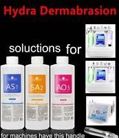 Authentic AS1 SA2 AO3 Aqua Peeling Solution 400ml Hydra Dermabrasion Face Clean