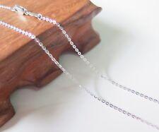 Pure Platinum 950 Necklace 1.3mm Cable Link Chain Necklace 51cm Pt950