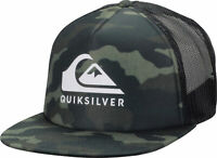 Quiksilver Mens Foamslayer Snapback Hat - Camo