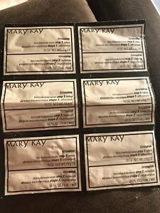 6 Samples! Mary Kay Timewise Microdermabrasion Refine 2.5 oz Dry To Oily Skin