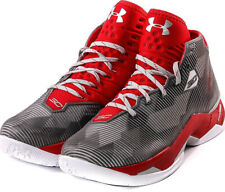 ORIGINAL UNDER ARMOUR UA CURRY 2.5 BASKETBALL SHOES, Red/Gray – 7.5US/ 40.5EU