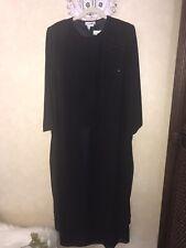After Dark Womens Dress Black Size 18WP Sheer Embellished 2Fer Lined