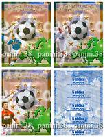 "RARE !! ZIDANE 3 Pochettes ""EURO 2004"" bustina, packet, tüte PANINI SCHOOLSHOP"