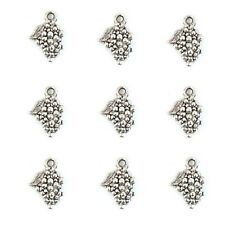 10 Tibetan silver Grape Charms Pendants