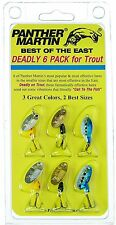 Panther Martin Best of East Trout Pack BE6