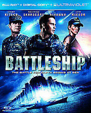 Battleship (Blu-ray, 2012) + Digital Copy and Ultraviolet INCLUDES slip case
