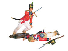 W. Britain - Napoleonic British Coldstream Guards Officer & Casualty Set 1 17877