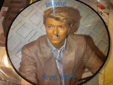 """DAVID BOWIE Let's Talk Import 12""""  Picture Disc Vinyl NCB AR-30010"""