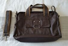 Daniel Ray Shoulder Laptop Bag Brown  *USED ONCE*