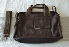 853cb0e0fa1 Daniel Ray Shoulder Laptop Bag Brown *USED ONCE*