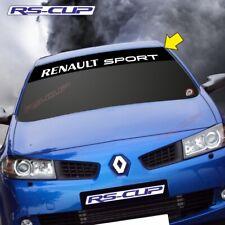 1216 Sticker logo RENAULT SPORT 2007 2015 aufkleber Clio Megane Noir et blanc