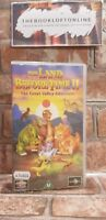 The Land before Time 2 VHS Video Tape Cassette Vintage Children's Film TBLO