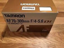 Tamron 70-300mm f/4-5.6 Di LD Macro 1:2 Zoom Lens BIM for Nikon DSLR Cameras