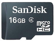 SANDISK 16GB Micro SD Class 4 Card For Mobile Phone Dash Cam Camera Tablet