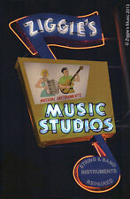 Post Card Ziggie's Music Neon sign