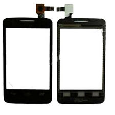 Alcatel One Touch 3040 Touch Screen Digitizer Lens Front Panel Pad Black UK