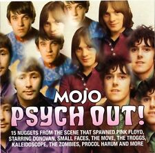 MOJO Psych Out! 15-trk CD NEW Kaleidoscope John's Children Small Faces Troggs