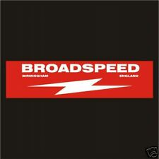 Broadspeed Decals Stickers Rally GP Old Vintage