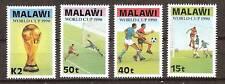 MALAWI # 566-9 MNH WORLD CUP SOCCER 1990