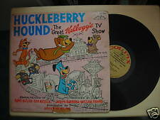 Vintage HUCKLEBERRY HOUND The Great Kellogg's TV Show LP