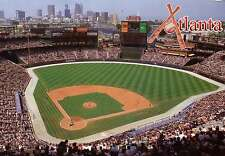 Turner Field, Atlanta Braves --- Beautiful  5 x 7 Stadium Postcard --- New !!!
