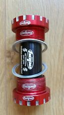 Hope Technology Road Cycling Bottom Bracket Cups 68mm - Red £85.00 RRP