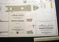 Tanker Lieselotte Essberger Wilhelmshavener Modellbau Lehrmittelinstitut 1950s