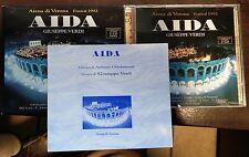 Giuseppe Verdi – Aida Arena Di Verona Festival 1992 2XCD Mint With Slipcase