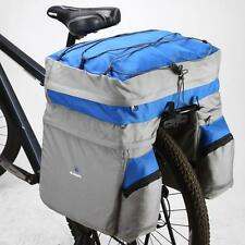 ROSWHEEL 60L Cycling Bike Double Side Rear Rack Tail Seat Trunk Bag Pannier I6D2